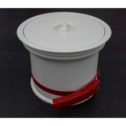 Vide déchets Prentout blanc ABS