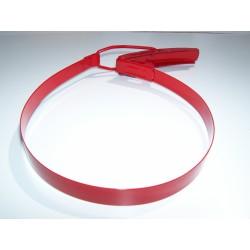 Pièce détachée collier époxy rouge