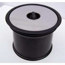 Système colonne Prentout noir INOX