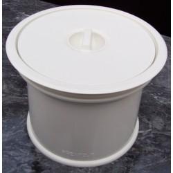 Système colonne Prentout blanc ABS