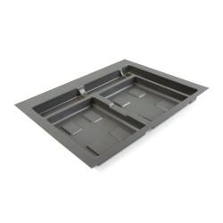 Base 3 cavités pour poubelles tri-sélectif pour tiroir