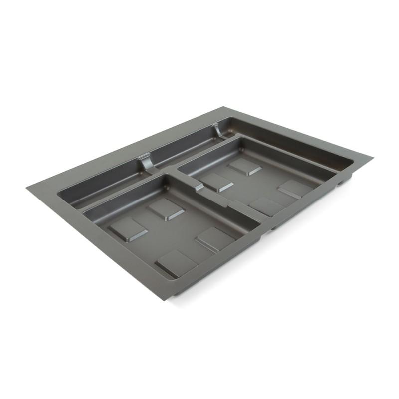 Base 4 cavités pour poubelles tri-sélectif pour tiroirf pour tiroir